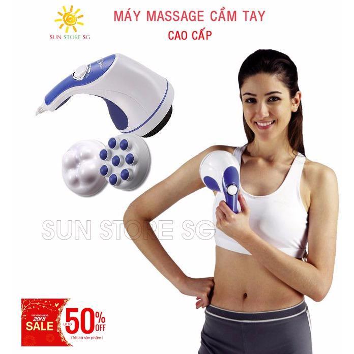 Mát Xa Đánh Tan Mỡ Bụng - Máy Massage cầm tay Cao cấp - Giúp thư giãn và thon gọn cơ thể - Giảm