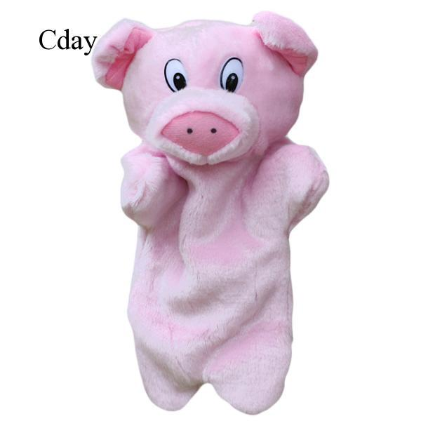 Pig Hand Puppets Plush Hand Toys Doll Baby Kids Children Educational Toys C962