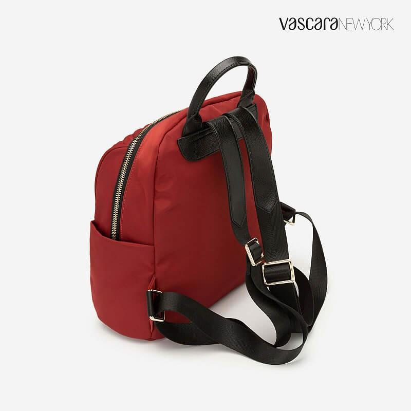 VASCARA - Balo Chần Bông Tạo Hình Đường Chéo - BAC 0121 - Màu Đỏ Ā