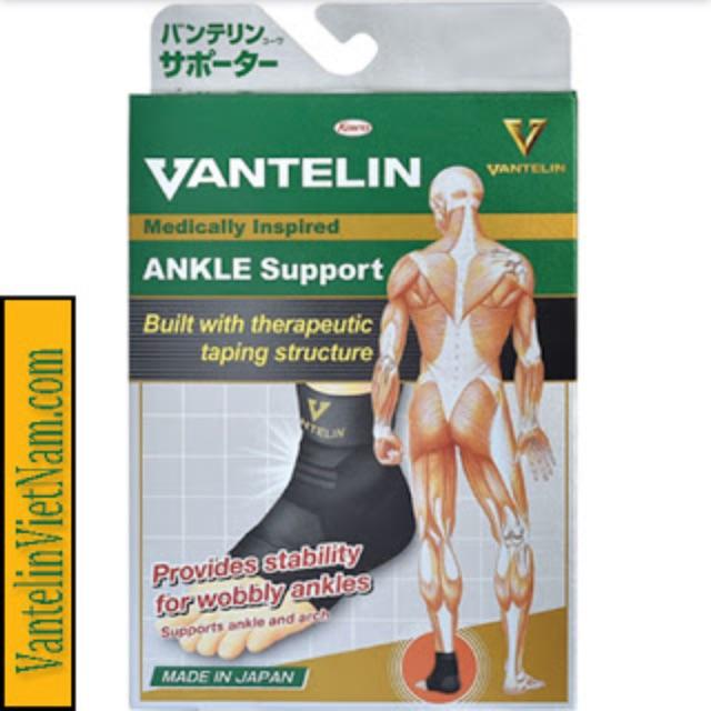 Đai bảo vệ khớp cổ chân Vantelin hàng đầu Nhật Bản ( mắc cá chân, băng bó gót)