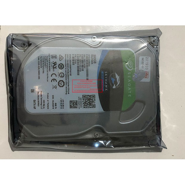 Ổ cứng 500GB SEAGATE lưu trữ dữ liệu cho camera