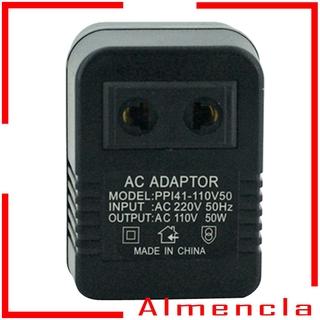 [ALMENCLA] 220v to 110v AC Power Jack Wall Plug Voltage Converter Travel Adapte
