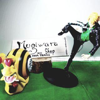 Combo mô hình Sanji và sên