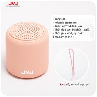 Bộ Loa di động Bluetooth JVJ Mini 3D BLT Không Dây - Âm Thanh Nổi Siêu Bass bỏ túi mang theo tiện lợi, Màu sắc yêu thíc