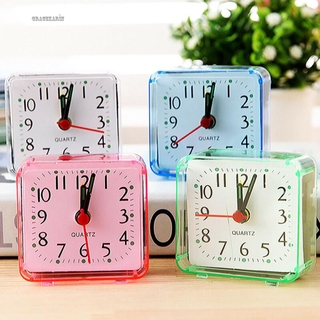 Clock ABS Alarm Clock Square Universal Supplies Table Snooze High Quality