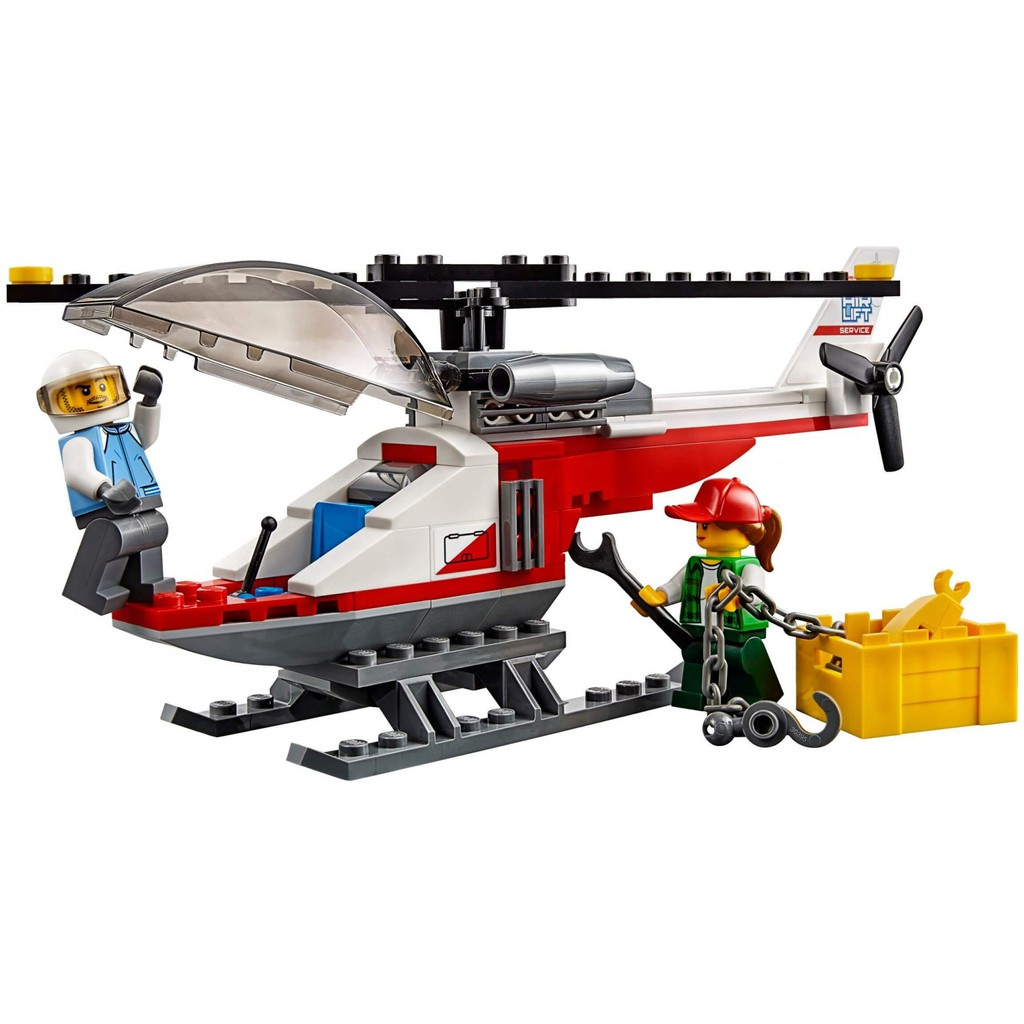 LEGO City 60183 - Xe Vận chuyển Trực Thăng (LEGO City 60183 Heavy Cargo Transport)