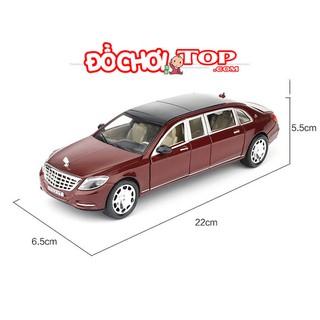 Mô hình xe ô tô Maybach S600 kim loại tỉ lệ 1:24 màu nâu