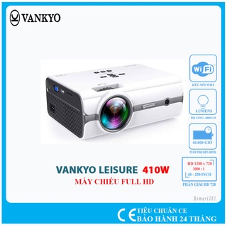 Máy chiếu mini VANKYO Leisure 410W độ phân giải thực HD - Bảo hành 24 tháng chính hãng. thumbnail