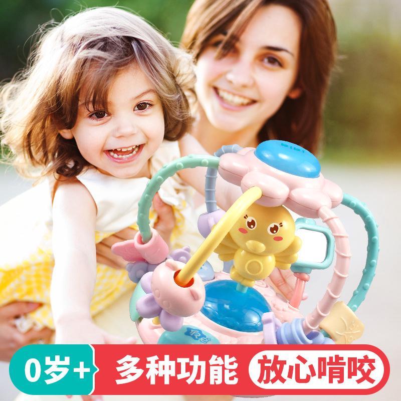 bộ đồ chơi lục lạc 8 trong 1 hình các con vật