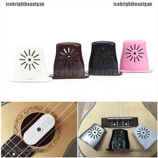 ICE 1pc Ukulele Guitar Bass Sound Holes mini Humidifier Musical Moisture ReservoirMA