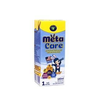 Thùng sữa nước pha sẵn Nutricare Metacare - phát triển não bộ cao lớn khoẻ mạnh (180ml x 48 hộp)
