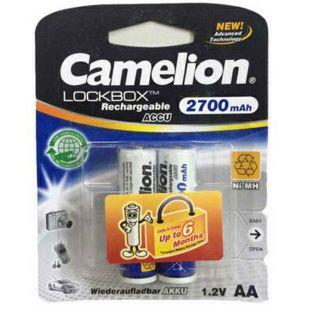 Pin Sạc AA Camelion 2700mAh LockBox