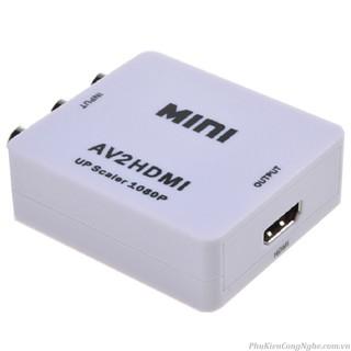 [Mã ELFLASH5 giảm 20K đơn 50K] Bộ chuyển đổi video AV sang HDMI full HD 1080p AV2HDMI