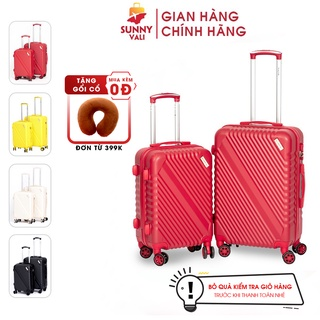 Vali kéo du lịch thời trang SUNNY SV05 ( 2 size 5 màu)