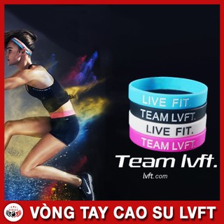 Vòng tay cao su gym – Vòng tay thể thao – Vòng tay LVFT Live Fit