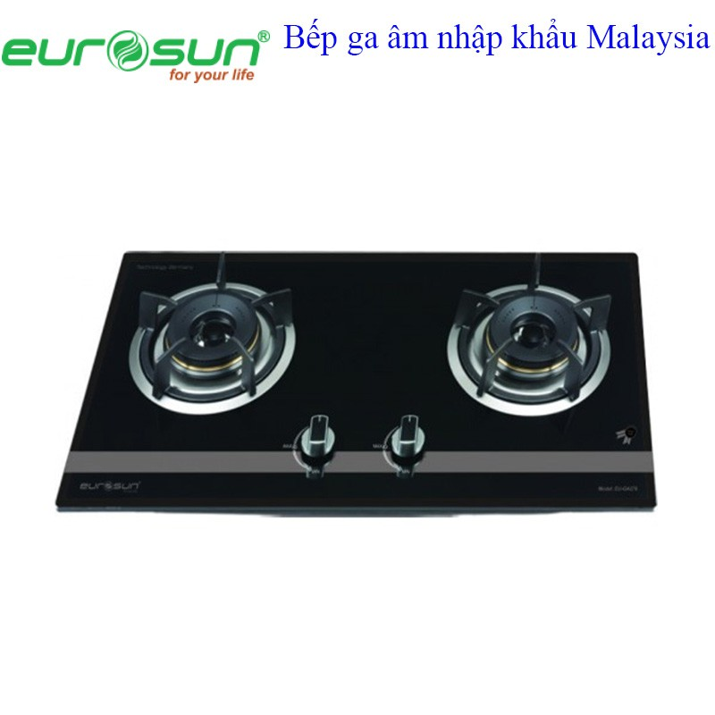 Bếp ga âm 2 lò EUROSUN EU - GA276S nhập khẩu Malaysia - 3454303 , 1253563431 , 322_1253563431 , 4125000 , Bep-ga-am-2-lo-EUROSUN-EU-GA276S-nhap-khau-Malaysia-322_1253563431 , shopee.vn , Bếp ga âm 2 lò EUROSUN EU - GA276S nhập khẩu Malaysia