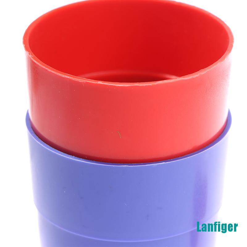 【Lanfiger】Three Cups And Balls Magic Tricks Many Size Close Up Stage Magic Props Toys