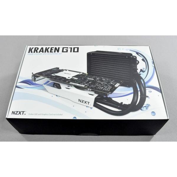 NZXT Kraken G10 - Gông tản nhiệt nước cho GPU