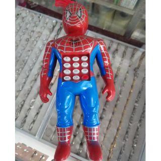 Điện thoại người nhện cho bé, tặng kèm 2 pin AA !!!