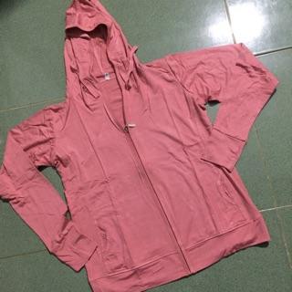 Áo khoác thun lạnh dày đẹp, có túi trong