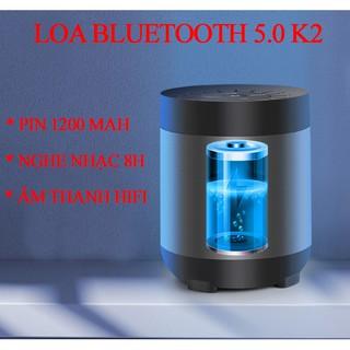 [Mã ELFLASH5 giảm 20K đơn 50K] loa bluetooth âm thanh hifi, bass trầm ấm, loa mini K2