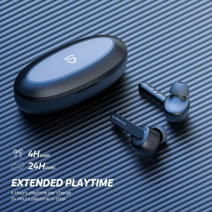 [Mã ELMALL300K giảm 5% đơn 500K] Tai Nghe True Wireless Earbuds SoundPEATS TrueCapsule Smart Touch Bluetooth V5.0