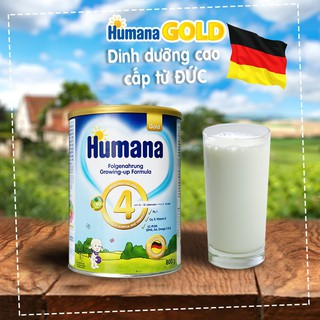 Sữa công thức Humana Gold số 1,2,3 từ 350g-800g Nhập khẩu Đức ( Cam Kết 100% Hàng Chính Hãng)