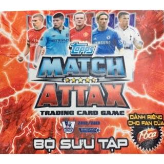 Thẻ Match Attax mùa giải 12/13 (phần 1/2)
