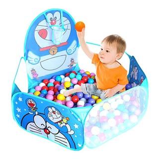Lều bóng chơi cho bé Doraemon, Hellokitty,Lều Chấm Bi, Lều Hươu (Không kèm bóng)