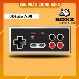 Tay cầm chơi game bluetooth 8Bitdo N30 cho Nintendo Switch thumbnail