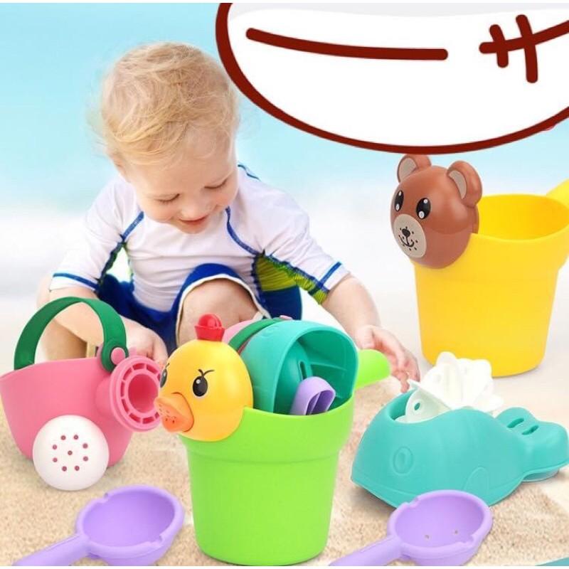 [Mã SRJULY1619 giảm 15K đơn 50K] Bộ đồ chơi tắm đồ chơi bãi biển cho bé