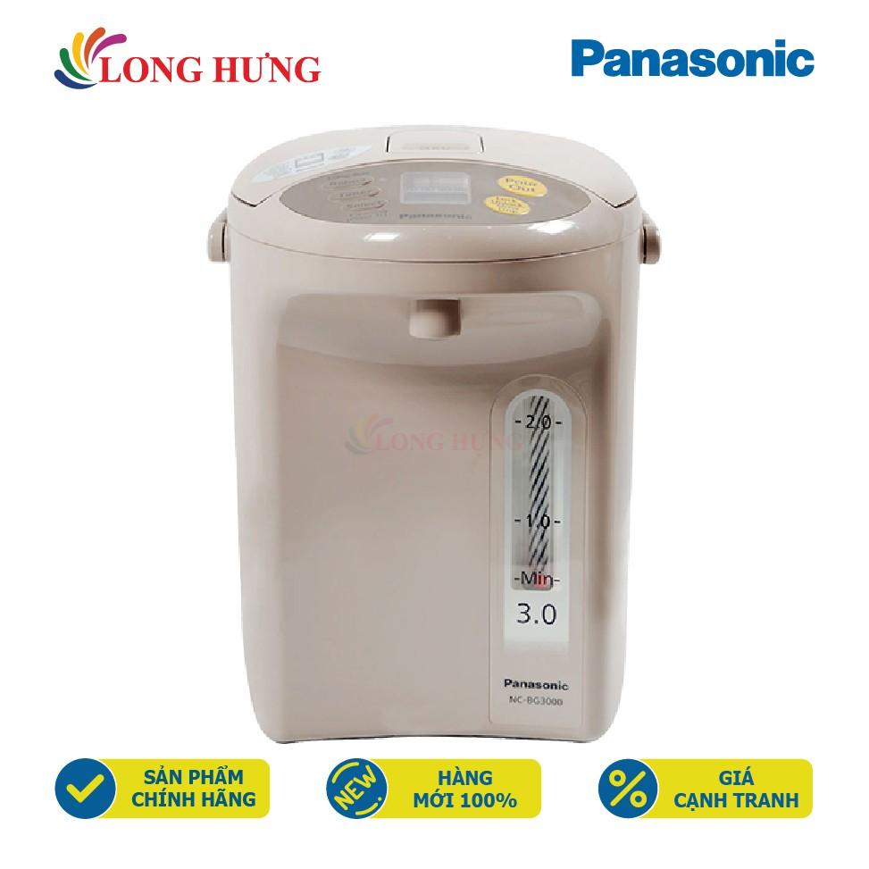 Bình thủy điện Panasonic 3.0 lít NC-BG3000CSY - Hàng chính hãng