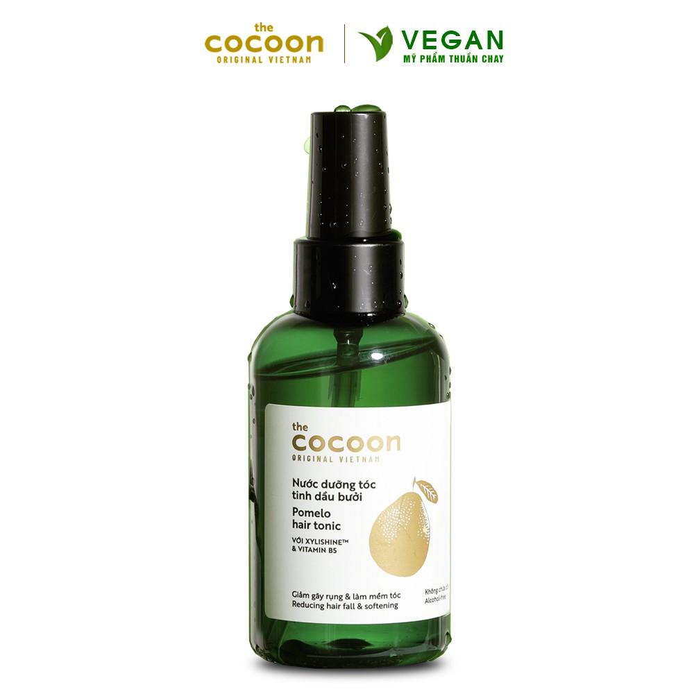 Nước dưỡng tóc tinh dầu bưởi(pomelo hair tonic)Cocoon 140ml