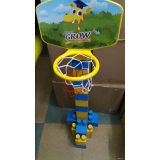 bộ bóng rổ khuyến mãi của hãng abbot grow (Hà Nội)