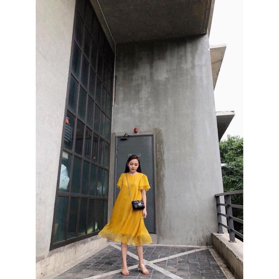 [Mã SKAMCLU7 giảm 10% tối đa 50K đơn 0Đ] Váy bầu công sở suông đẹp  FREESHIP  đầm nữ đẹp