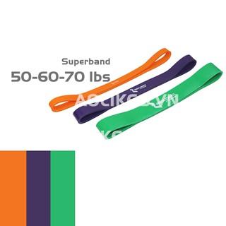 Dây đàn hồi tập mông chân Superband Set 3 dây NO.1