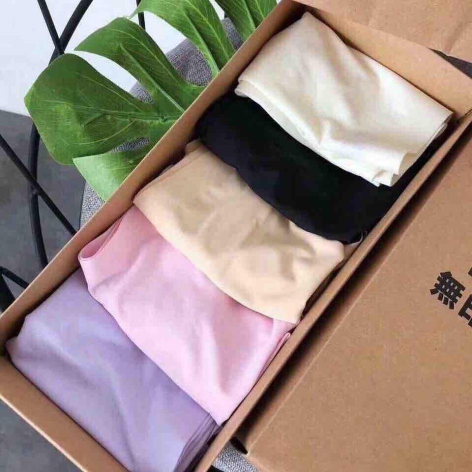 SET 5 QUẦN LÓT SU NỮ CỰC MỊN MÁT FULL HỘP ❤ Hộp 5 quần lót Mịn đơn giản ❤ Hộp 5 quần lót xuất khẩu đẹp