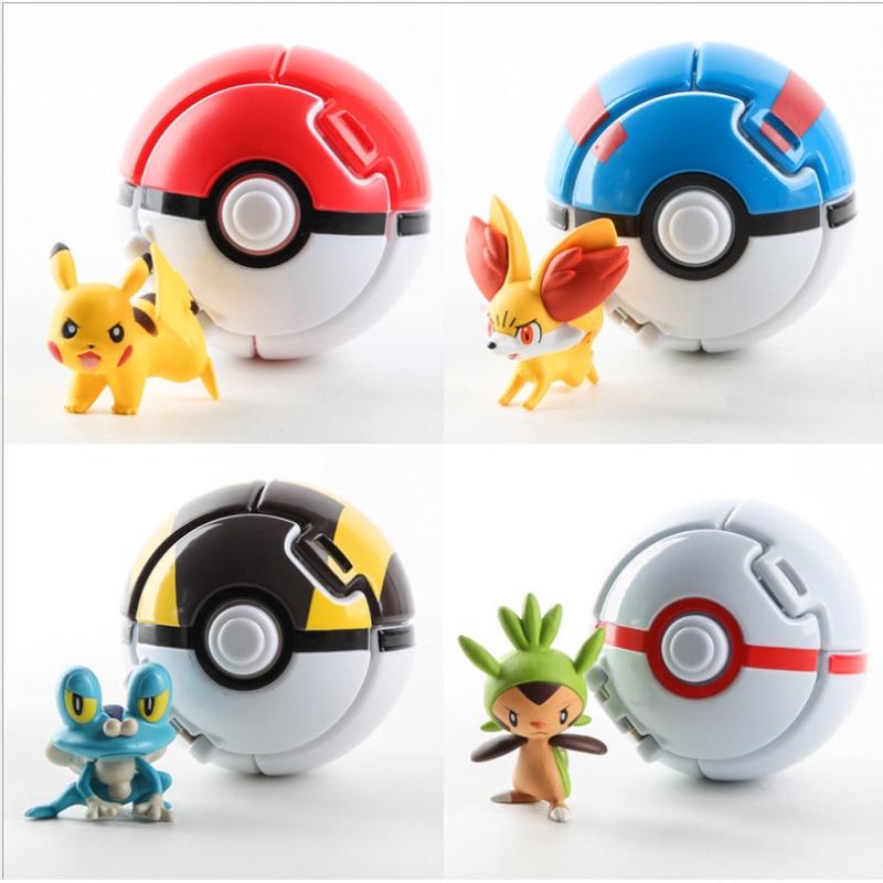 Vụ nổ bóng Pokemon Bóng Pokemon Biến dạng Pokemon Bóng lật Poco Dream Elf