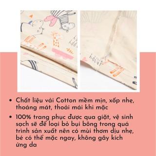 Hình ảnh Bộ Quần Áo Dài Tay Cho Bé Trai Và Bé Gái (1-9 Tuổi) K's Closet E044TEF TM-5