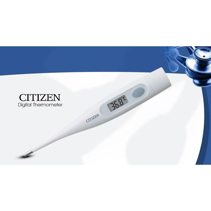 [CHÍNH HÃNG NHẬT BẢN] Nhiệt kế điện tử  Citizen - CTA302 - Phát Tín Hiệu Cảnh Báo Sốt