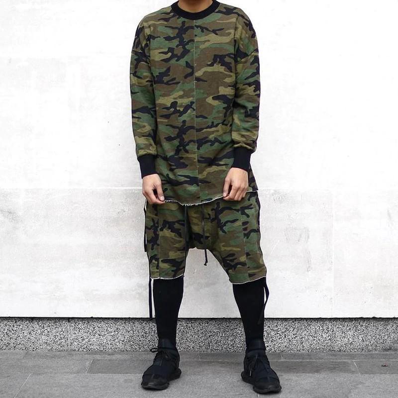 Wandergo Men Spring Summer Thick Warm Hiphop Sweatshirt O Neck Long Sleeve