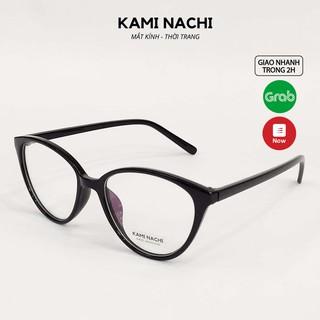 Gọng kính thời trang nữ KAMI NACHI dáng mắt mèo phong cách sang chảnh 2360 [CÓ THỂ LẮP TRÒNG CẬN] thumbnail