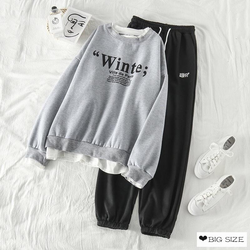 [Nhập WACB15 giảm 15K] Set quần áo mùa đông xinh xắn dành cho nữ