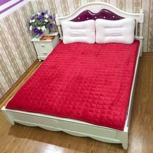 Thảm lót nhung nỉ trải giường 1m6 x 2m
