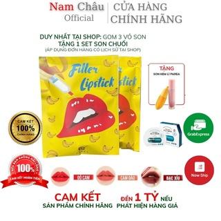 Son Chuối Filler khử thâm môi Collagen Lipstick PAREA Set 2 NPP Nam Châu thumbnail