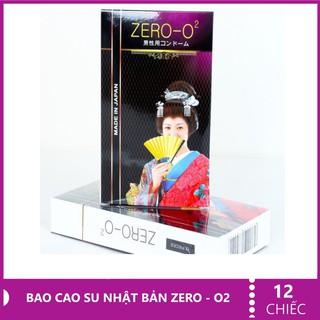 Bao cao su siêu mỏng siêu trơn hộp 12c Zero O2Nhật Bản thumbnail