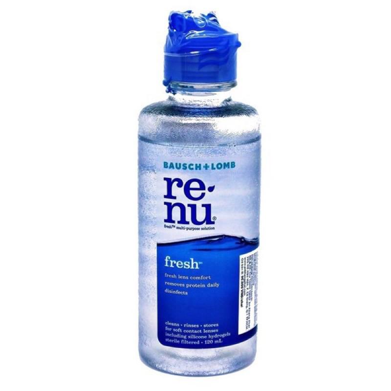 [120 ml] Dung dịch ngâm kính áp tròng RENU Fresh