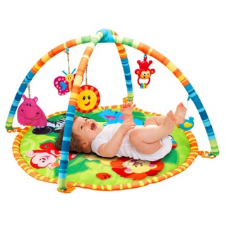 Thảm nằm chơi cho bé sơ sinh đến 12 tháng Winfun (quà Moony)