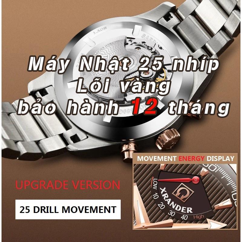 Đồng Hồ Nam XRANDER Dây Demi Sang Trọng, Chống Nước Tốt