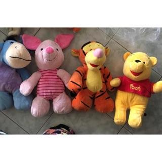 Set 4 thú bông phim hoạt hình Winnies the Pooh